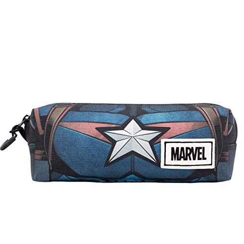 Captain America Chest Etui, vierkant, HS