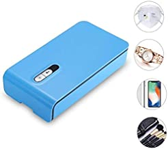 Smart Phone UV Light Sanitizer Multi-Function Disinfector Cleaner Aromatherapy Disinfection Box with USB Charger,UV Bulbs