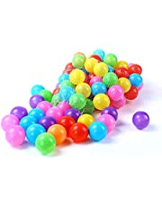 Océano Ball, 100 Suave De Plástico De Los Niños Del Juego De Bola, De Protección Ambiental De PE De Color Diversión De La Bola De La Bola, La Bola De Natación Piscina De Bolas De Juguete De 7Cm Niños