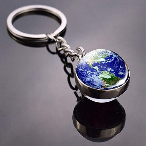 HXYKLM Schlüsselanhänger Globus Erde Anhänger SchlüsselanhängerSchlüsselanhänger