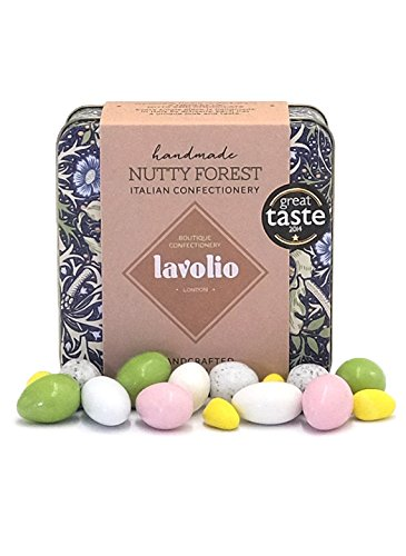 Lavolio William Morris Nutty Forest Confectionery Gift Tin (175g) - Premium...