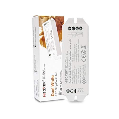 Kingled - MiBoxer FUT035S Receptor Dual White CCT - Controlador DC 12V 24V Max 12A para Strip Led Mi Light® 2,4GHz Cod 4456