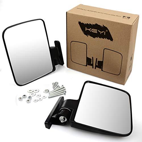KEYI Golf Cart-Seitenspiegel für Golfwagen, EZ-GO, Yamaha, TXT, DS, universelles Golfwagen-Zubehör