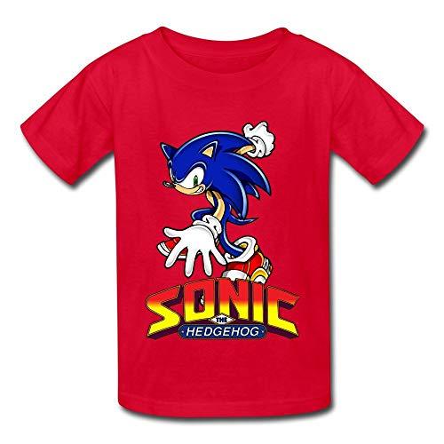 HGdggvd TBTJ Sonic The Hedgehog ACT T-Shirts für Jugendliche von 6 bis 16 Jahren
