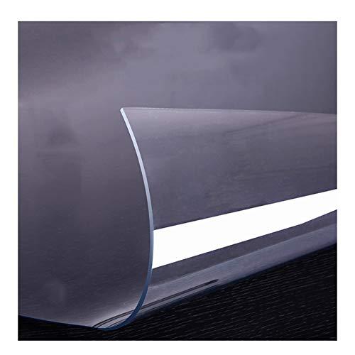 ZWYSL Protector Mesa Mantel De PVC Transparente Impermeable Y Anti-Quemaduras Mantel Transparente 1,5 Mm, 2 Mm Placa De Cristal Suave Mantel Aislante Engrosado (Color : 2mm, Size : 70X70cm)