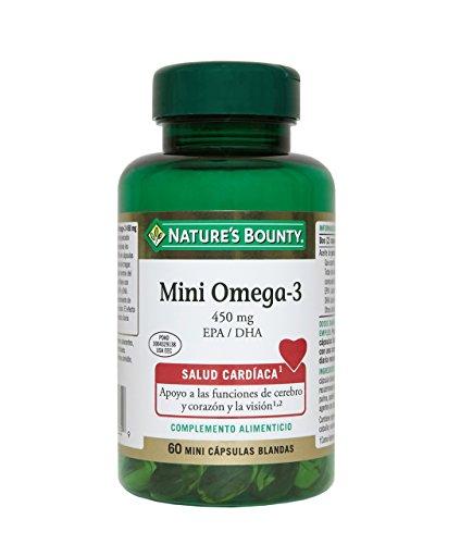 Nature's Bounty Mini Omega-3 450 mg EPA/DHA - 60 Cápsulas