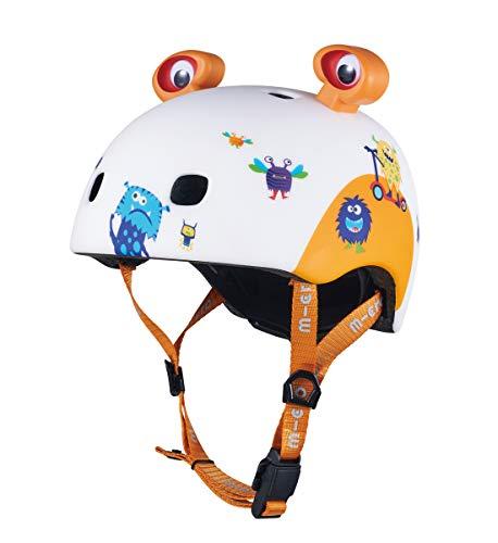 MICRO Helm V2 3D, Bedruckt, Unisex, Monster (Mehrfarbig), S