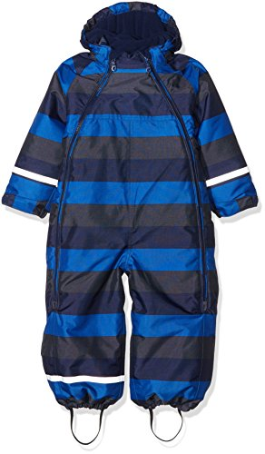 CareTec Combinaison de Neige Unisex Bébé, Multicolore (Blue Nights), 98