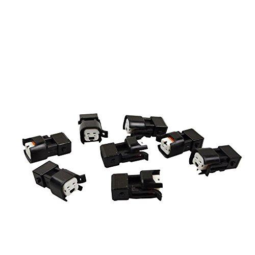 8 Stück EV6/EV14 weiblich auf EV1 männlich Fuel Injektor Anschluss kabellos Adapter