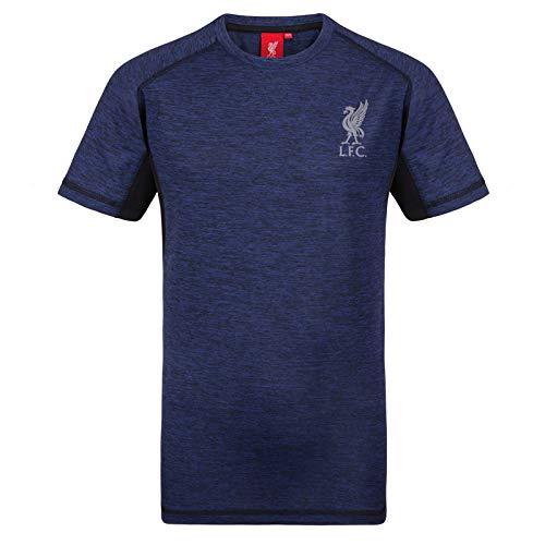 Liverpool FC Herren Trainingstrikot Aus Polyester - Offizielles Merchandise - Geschenk für Fußballfans - Königsblau - XL