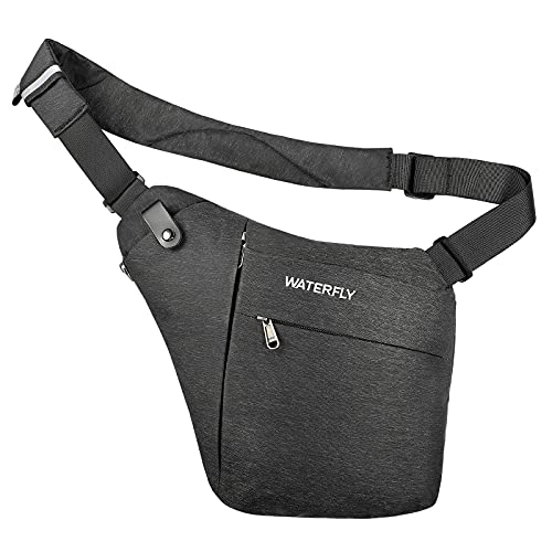 WATERFLY Crossbody Sling Bag Herren und...