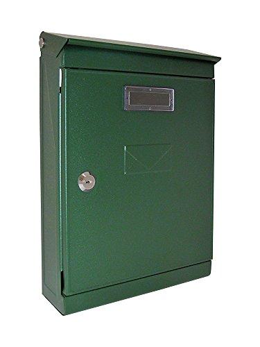 Vulcania 2500EV6VE brievenbus van staal, groen