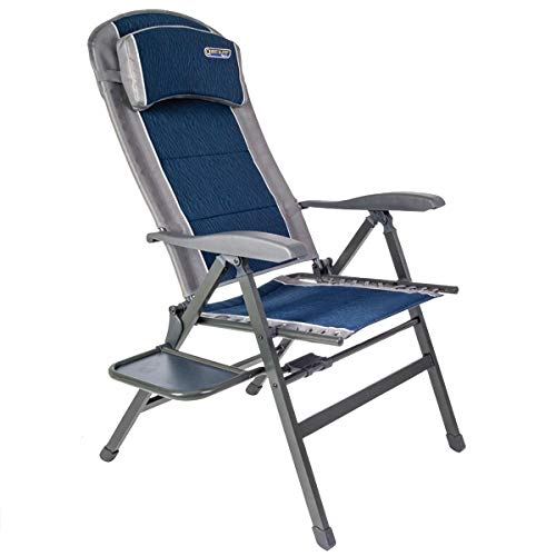 Quest Ragley Pro Komfortsessel mit Beistelltisch Campingstuhl Campingmöbel