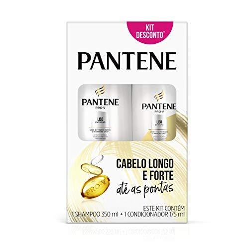 Shampoo Pantene Liso Extremo 350 Ml + Condicionador 175 Ml, Pantene
