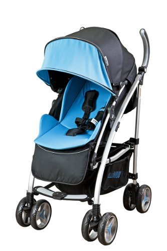 Mia Moda Dream On Me Adriana Reversible Seat Stroller Blue