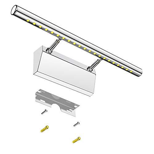 Lámpara de Espejo Baño LED Elekin 6W Aplique Espejo LED Blanca 6000K...