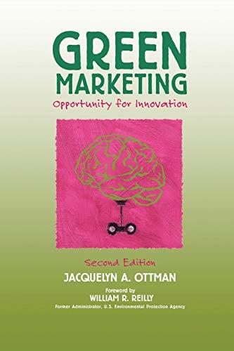 Green Marketing: Opportunity for Innovation