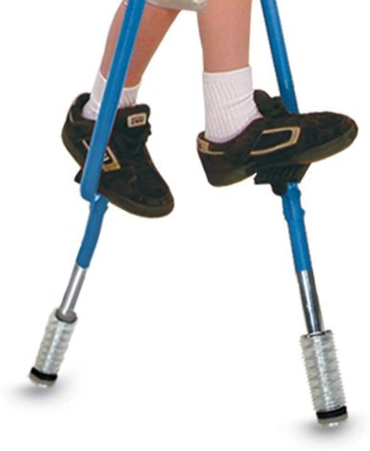 Geospace Xtensionz 4-Piece Extensions Set for Walkaroo Steel Stilts (Includes 2 Styles  Super Shocks & green Lifters)