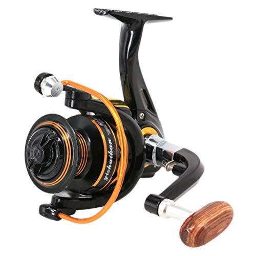 Abaodam Carrete de pesca profesional de la rueda de lanzamiento de carrete de pesca carrete de pesca carrete de pesca de la balsa del carrete de la caña