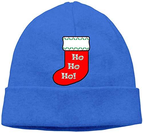 Skull Cap Solid Hedging Cap Uhr Cap Weihnachten Socken Unisex Beanie Hats Black