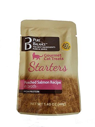 Pure Balance Gourmet Cat Treats Starters Poached Salmon Recipe (5 pack)