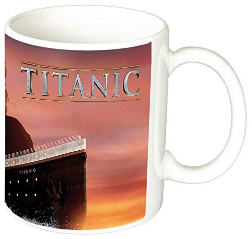 MasTazas Titanic Leonardo Dicaprio Kate Winslet F Tasse Mug