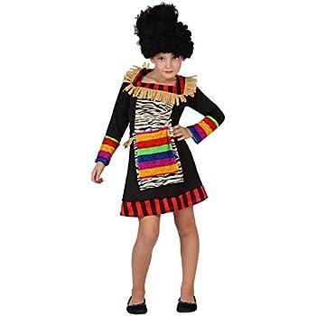 LLOPIS - Disfraz Infantil Africana t-3: Amazon.es: Juguetes y juegos