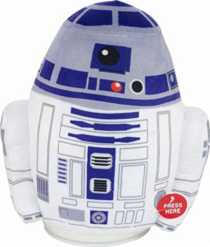 Underground Toys - Star Wars R2-D2 Bump-N-Go Plush with Original Sounds