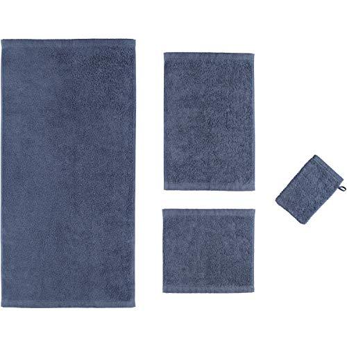 Cawö Home Handtücher Life Style Uni 7007 Nachtblau - 111 Badetuch 100x160 cm