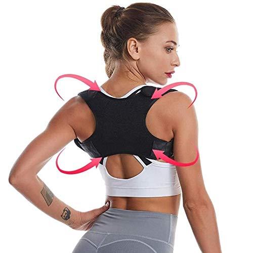 Lamyanran Posture Corrector Back Support Swiss Safe Posture Corrector for Men/Women - Stylish & Discreet Ergonomic Back Straightener Brace for Proper Posture & Spinal Pain Relief