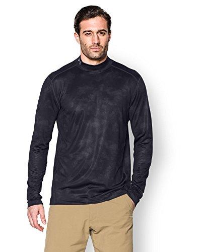 Under Armour® Stehkragen Camo Mock-Shirt ColdGear®