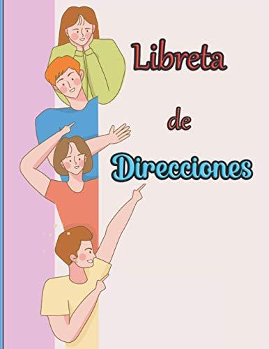 Libreta de direcciones: Gestión de direcciones extremadamente simple | Este libro de contactos me permite tener las coordenadas de todos mis amigos rápidamente a mano | Directorio