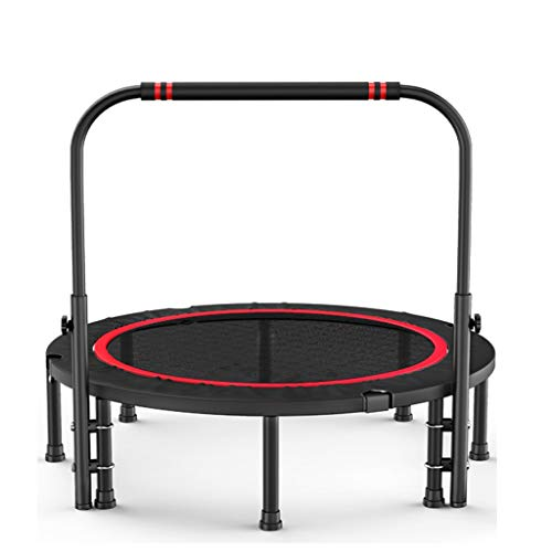MXueei Trampoline Outdoor Trampoline/Adult Sports Weight Loss Trampoline/Gym Home Indoor Bounce Bed (Size : 120CM)