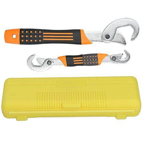 Llave multifunción de doble rosca, llave de agarre para tubos, para la familia de tubos Tornillo de tuerca de emergencia