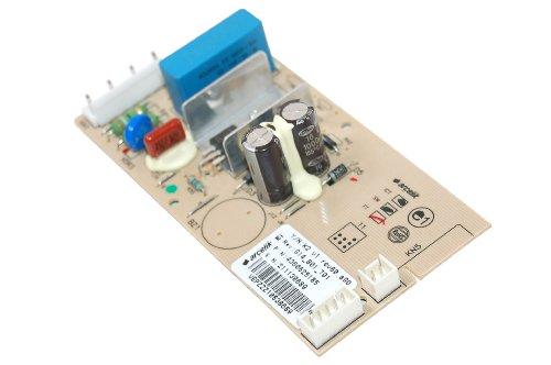 Beko 4360620185 Lave-vaisselle Accessoire Lignac//Original de rechange PLATINE Module de commande pour vos technique du froid/Platine d'abonné