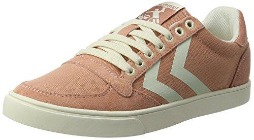 hummel Damen SL. Stadil Herringbone Low Sneakers, Pink (Rose Dawn), 37 EU