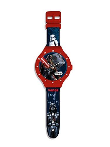 Party Factory Star Wars Wanduhr 25cm Darth Vader Kinderzimmer Deko