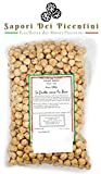 AVELLANAS TOSTADAS Y PELADAS - Variedad Tonda di Giffoni - 1 KG - HAZELNUTS ROASTED NUTS - Almendras de frutos secos, granos de avellana y trufa negra en invierno y verano