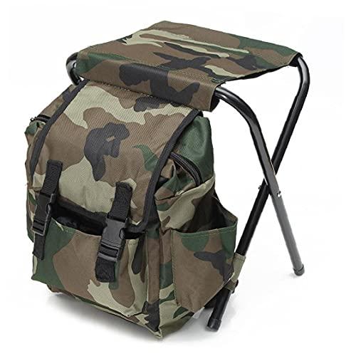 Camuflaje portátil resistente a la mochila plegable de la mochila de la...