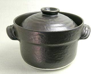 萬古焼 大黒ごはん鍋 セリオン炊飯器 3合炊き 日本製
