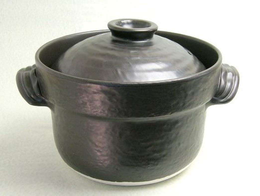 ベイビー薄汚いハント萬古焼 大黒ごはん鍋 セリオン炊飯器 3合炊き 日本製
