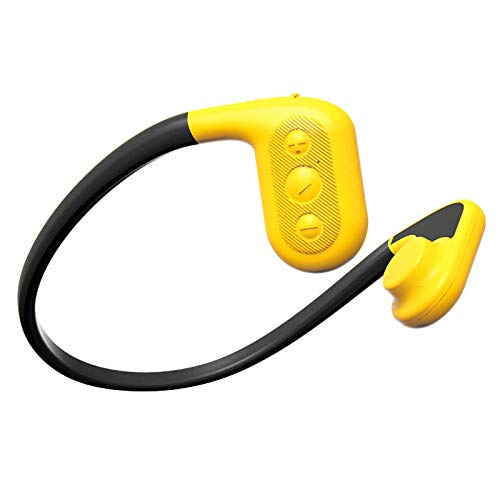 Tayogo 8GB Waterproof MP3 Player Bone Conduction Bluetooth Swimming Headphones Support FM APP with...