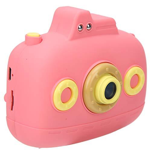 Zunate Cámara para niños, cámara Digital para niños con Pantalla a Color de 2.4 Pulgadas, cámara de grabación de Video de Mano Linda de 20MP HD, Regalo de Festival, cumpleaños para niños(Rosa)
