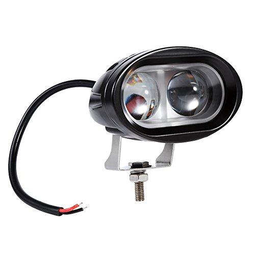 Qiilu 2 pièces Universel 20W Lampe Intérieur Plafonnier Lumière LED de Toit pour Camping Car