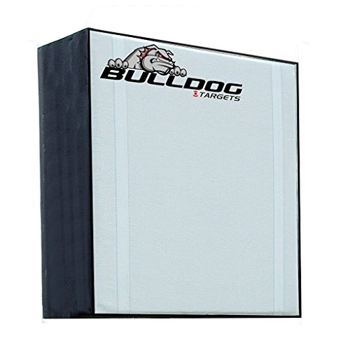 "Bulldog RangeDog 36"" x36 x 12"" Flat Face Archery Target (Target Only), White"