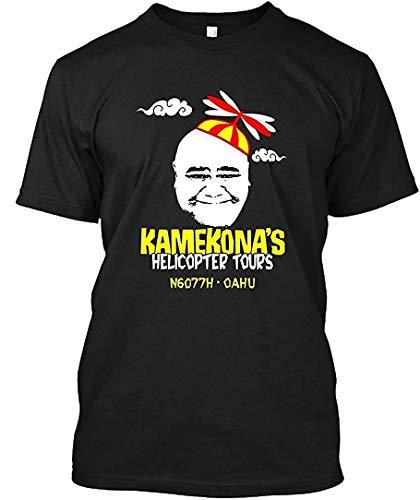 Kamekona s Helicopter Tours 41 Herren Baumwolle Soft T-Shirts