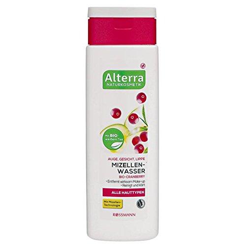 Alterra Mizellenwasser 150 ml für alle Hauttypen, mit Bio-Cranberry, vegan ÖKO-TEST Sehr Gut