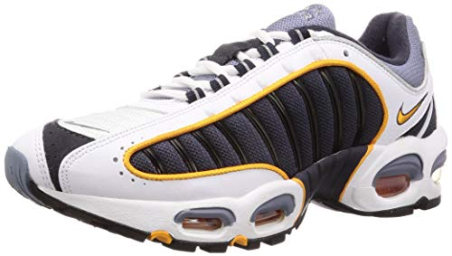 Nike Air Max Tailwind IV Mens Running Trainers AQ2567 Sneakers Shoes (UK 7 US 8 EU 41, Grey White 001)