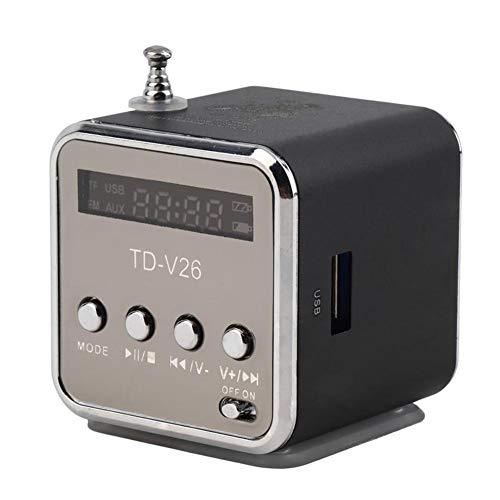 P12cheng Muziek- en luidspreker voor mobiele telefoon, draagbare mini-luidspreker voor buiten, 3,5 mm stereo versterker voor mobiele telefoon en tablet