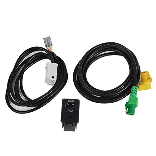 Câble USB + AUX INr RCD510 300 310 pour VW Passat B6 B7 CC Golf MK6 Jetta